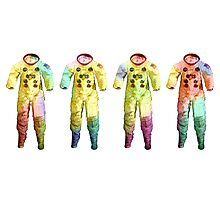 Neil Armstrong's Space Suit Photographic Print