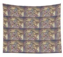 Golden Net Wall Tapestry