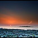 Sunset Doolin Beach, Crab Island, County Clare, Ireland.  by Noel Moore Up The Banner Photography