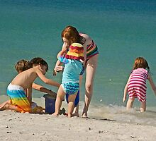 Let's build a sand castle!!!!!!!!!!!! by Brenda Dow