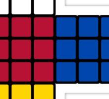 Flat Rubik Cube  Sticker