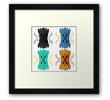 Sauron Mirror POP ART Framed Print