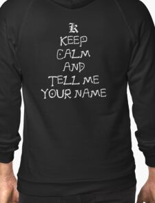 death note keep calm and tell me your name anime manga shirt T-Shirt