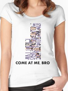 MissingNo - Come at me bro Women's Fitted Scoop T-Shirt