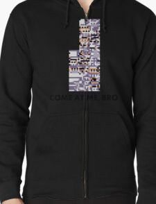 MissingNo - Come at me bro Zipped Hoodie