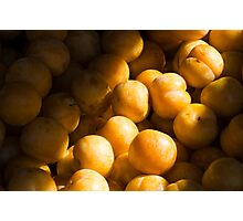 Bums. I mean plums! Photographic Print