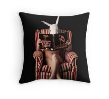 White Rabbit Chronicles #5 Throw Pillow