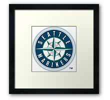 seattle marines Framed Print