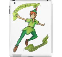 Peter Pan was right iPad Case/Skin
