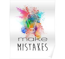 Make Mistakes Poster