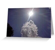 clouds in maidstone Greeting Card