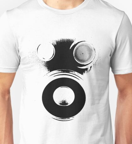 Bass Face Gas Mask Unisex T-Shirt
