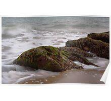 Sand, Sea, Seaweed Poster
