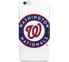 washington national iPhone Case/Skin