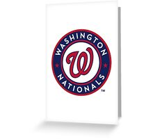 washington national Greeting Card