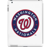 washington national iPad Case/Skin