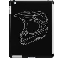 Mx Helmet White iPad Case/Skin