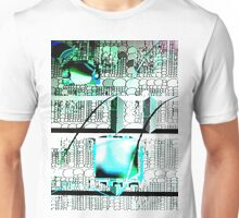 Overwriting the past Unisex T-Shirt