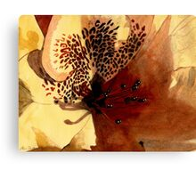 Flower Beauty Canvas Print