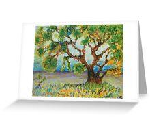 Meadow tree Greeting Card