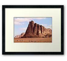 Wadi Rum desert Framed Print