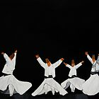 Whirling Dervishes by Narayan Pillai