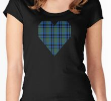 00682 Falconer Clan/Family Tartan  Women's Fitted Scoop T-Shirt