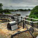 Glasson Marina Lock by John Hare