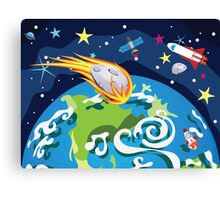 Earth Planet Canvas Print