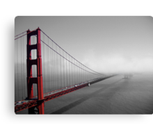 Golden Gate new to old Canvas Print