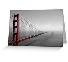 Golden Gate new to old Greeting Card