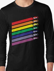Race The Rainbow Long Sleeve T-Shirt