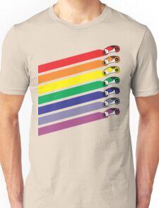 Race The Rainbow Unisex T-Shirt
