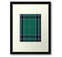00683 Falconer of Labhdal Tartan  Framed Print
