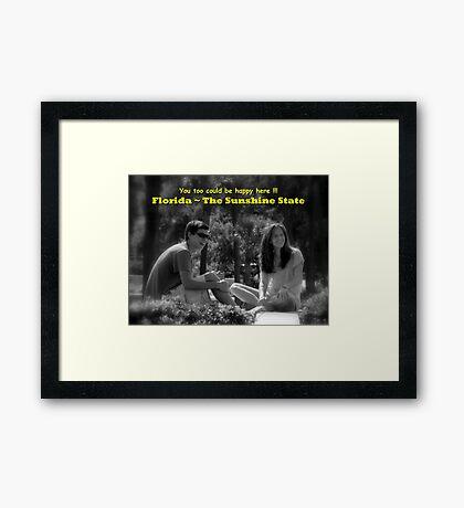 Florida, The Sunshine State ~ Part Three Framed Print