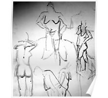 Nude Painting 2 Poster