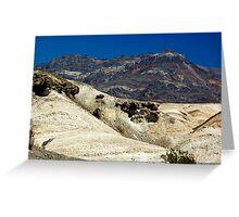 Desert Contrast Greeting Card