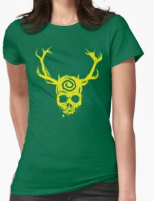 Yellow King Womens Fitted T-Shirt