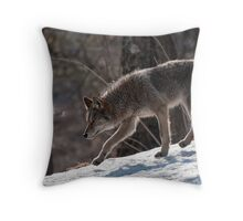 Silent Runner Throw Pillow