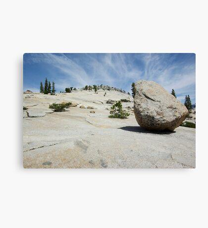 Lunar Rock Canvas Print