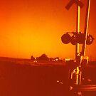 red sky by Jim Prince