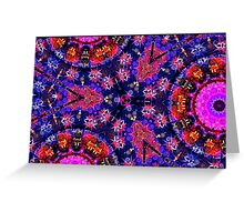 Queen of Colors Greeting Card
