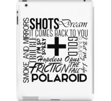 S+M Songs Design iPad Case/Skin