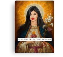Kylie Angel - Saintly Celeb Canvas Print