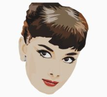 Audrey Hepburn Vector Kids Clothes