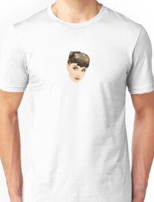 Audrey Hepburn Vector Unisex T-Shirt