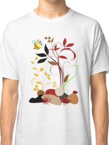 The Bee And The Ladybug With A Smile Classic T-Shirt