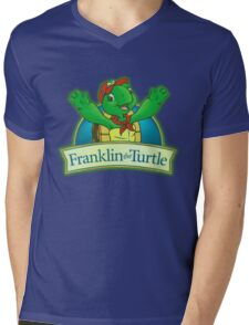 Franklin the turtle Mens V-Neck T-Shirt