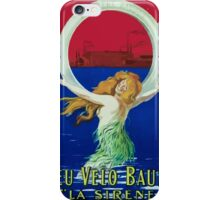 Leonetto Cappiello Affiche Pneu Baudou iPhone Case/Skin