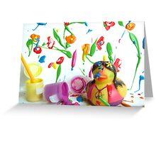 Hippypiece Greeting Card